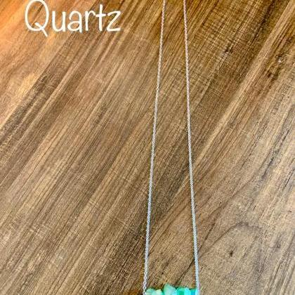 Green Quartz, Black Onxy, Florite C..